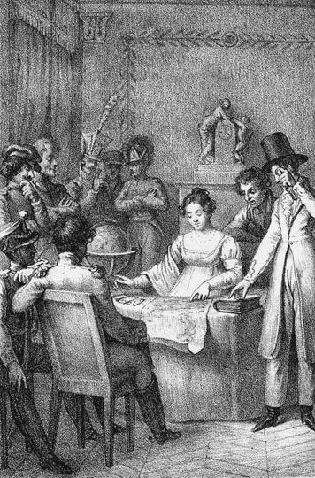 Madame Mademoiselle Mlle Lenormand Napoleon Fortune Telling Card มาดมัวแซลเลอนอร์มองด์ มาดามเลอนอร์มองด์ ทำนายไพ่ ดูดวงไพ่ นโปเลียน จักรพรรดิ์ ไพ่ยิปซี