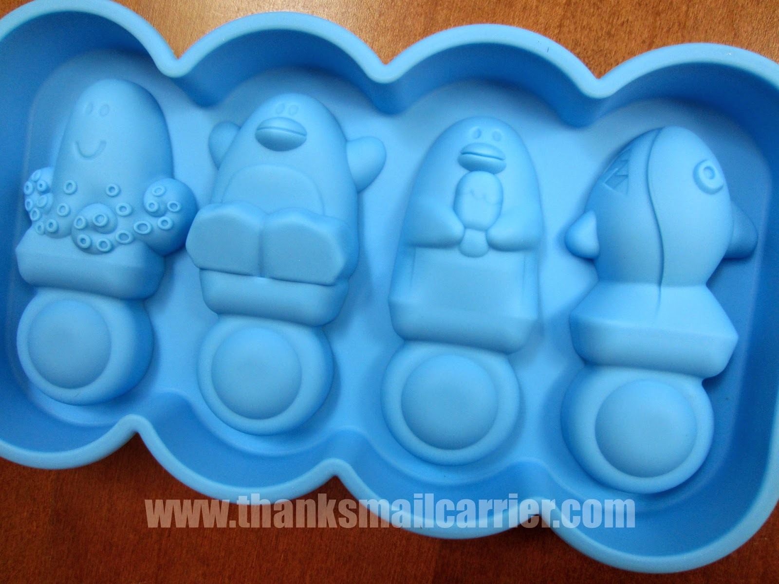 Silicone Popsicle Tray Penguins