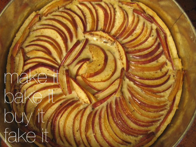 Apple Tart Upset