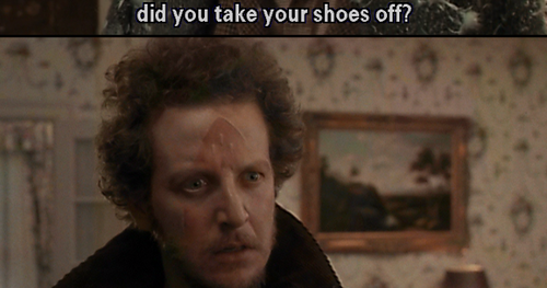 quotes and movies why the hell did you take your shoes off