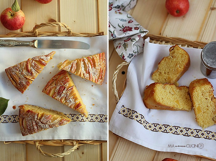 torta di mele(fetta)