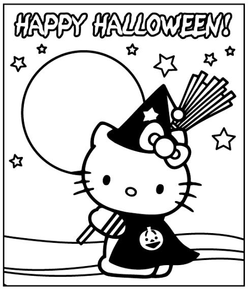 Hello Kitty en Halloween : Locos por Hello Kitty