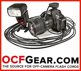 OCF GEAR | VERSION LONGUE CAMERA OFF FLASH TELECOMMANDE FILAIRE POUR CANON eTTL ET NIKON iTTL