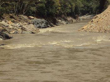 El Río Cauca esta siendo destrozado por EPM
