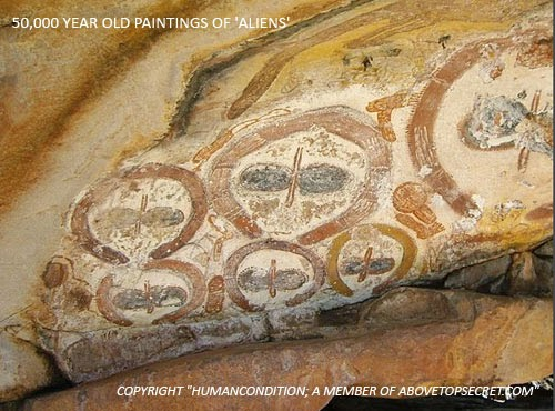 Alien Art: Mysterious Aboriginal Rock Art of the Wandjinas