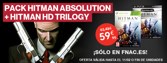 Pack Hitman Absolution + Hitman Trilogy
