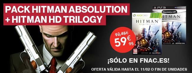 Pack Hitman Absolution + Hitman Trilogy