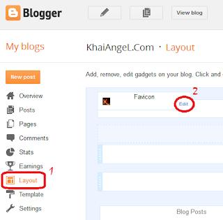Tutorial blog - Cara untuk menggantikan favicon pada blog