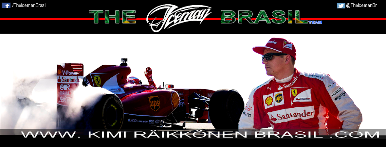 The Iceman Brasil Team | Kimi Raikkonen Brasil.Com