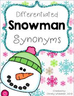 http://www.teacherspayteachers.com/Product/Differentiated-Snowman-Synonyms-983099