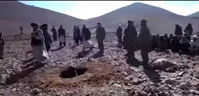 Young woman stoned to death by Taliban for eloping in Afghanistan, Nov. 2015