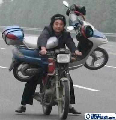Bila Motosikal Jadi Kenderaan Mengangkut Barang