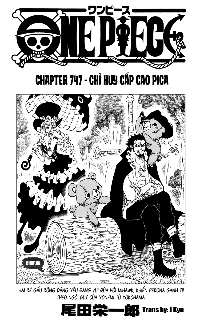 One Piece Chapter 747: Chỉ huy cấp cao Pica 001