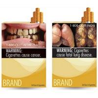 Kemasan Rokok  di USA