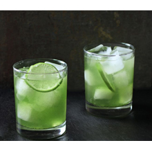 Dandelion lime cooler