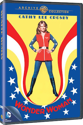 Wonder Woman - The Cathy Lee Crosby Pilot being released on December 11, 2012