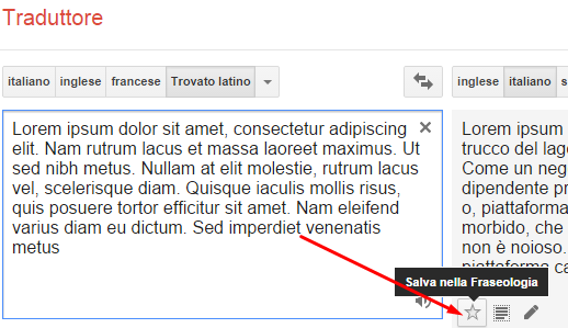 come salvare le traduzioni di google traduttore