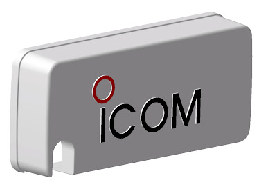 Light Black Design Cover Panel for ICOM Concept