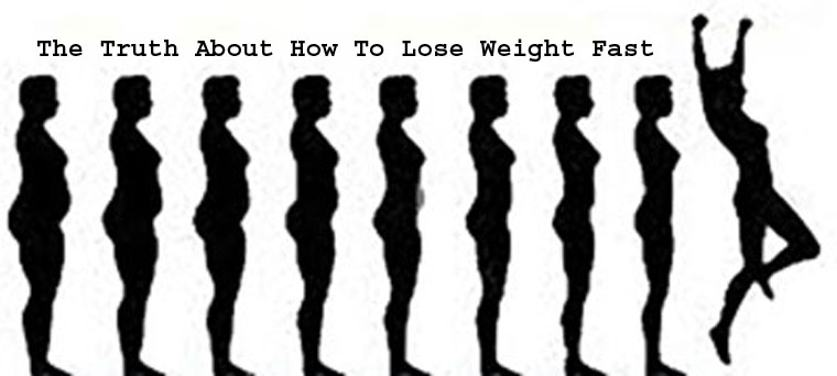 The Truth About How To Lose Weight Fast