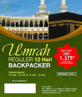 Paket Umroh Backpacker