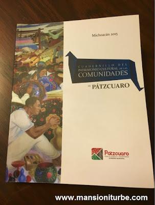 Cuadernillo del Patrimonio Cultural de las Comunidades de Pátzcuaro