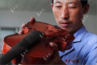 Proses Pembuatan Biola