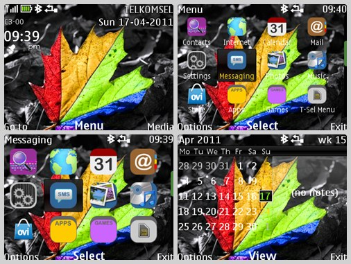 Rasta theme for NOKIA C3-00& X2-01
