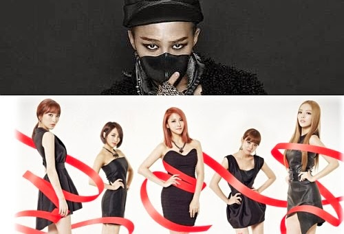 G-Dragon e KARA