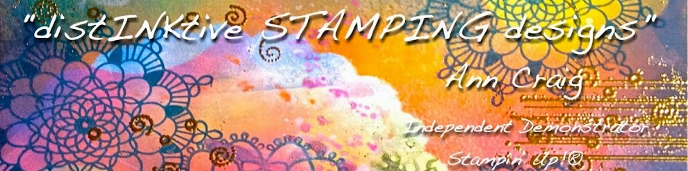 distINKtive STAMPING designs with Ann Craig
