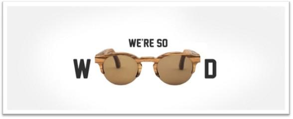 wood sun glasses