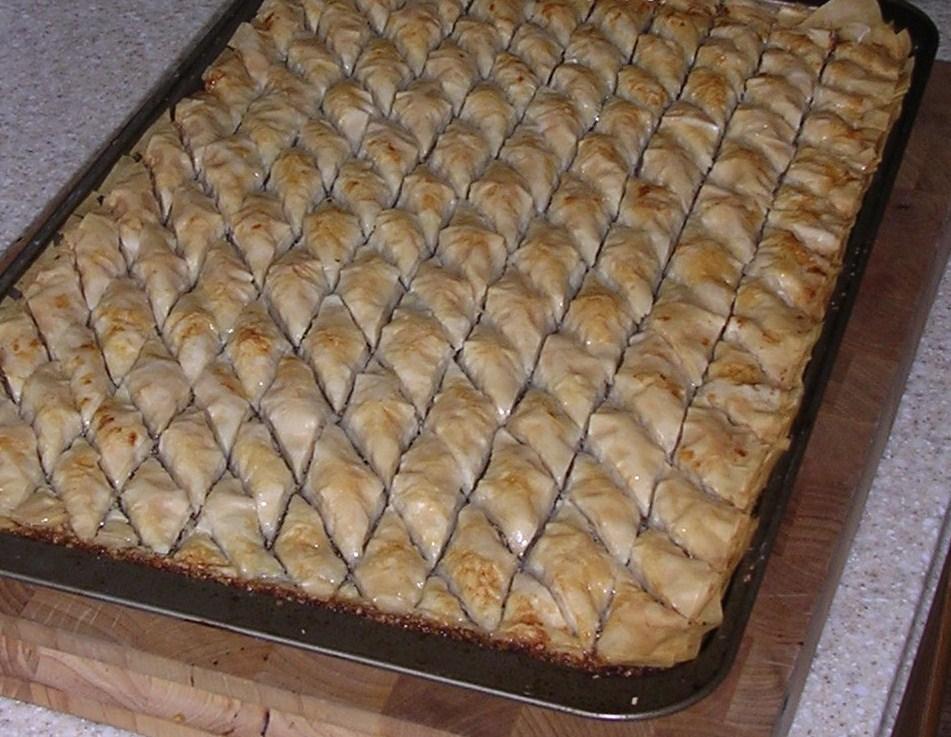 Easy baklava recipe without phyllo dough