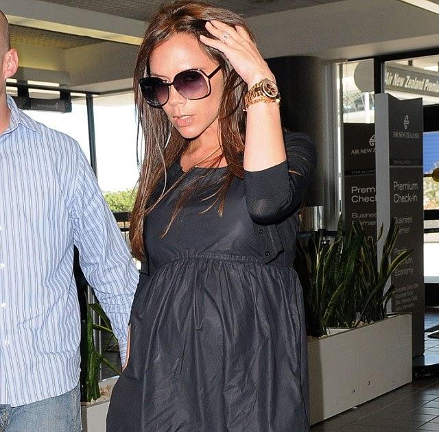 Victoria Beckham I Wore Heels While Nine Months Pregnant