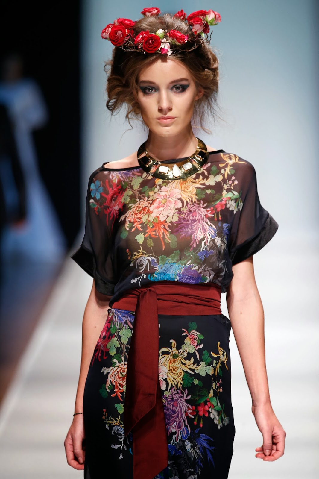 Fashion Studio Magazine: MERCEDES-BENZ FASHION WEEK RUSSIA SS 2014ls russian models