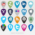 24 Icon Set Sosial Media Yang Harus Dimiliki