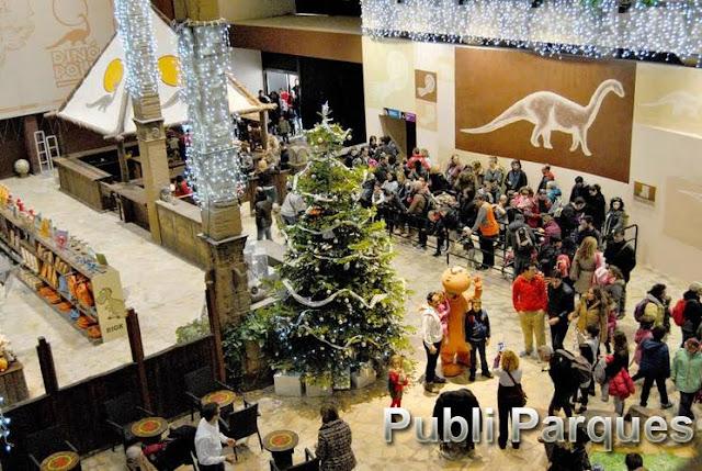 Dinópolis le da la bienvenida a la Navidad