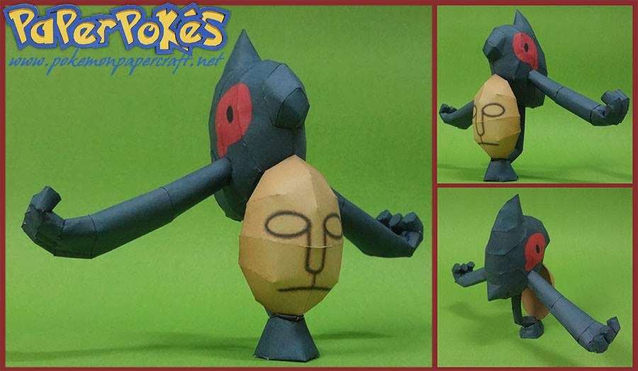 Pokemon Yamask Papercraft