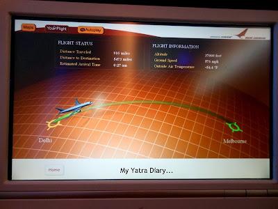 Air India - Flight to Melbourne (2)