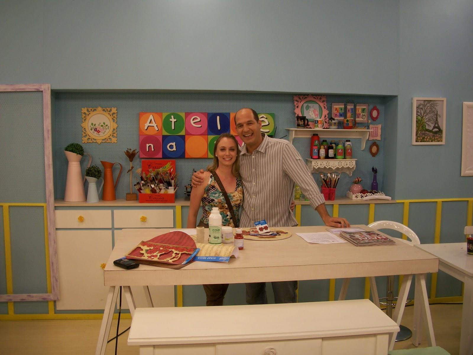Atelie na TV - Priscila Müller