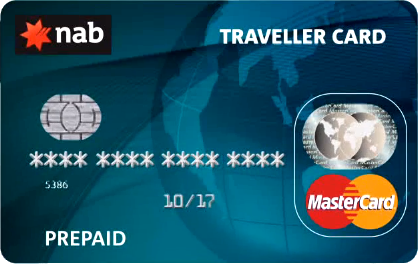 Carte NAB « Traveller Card »