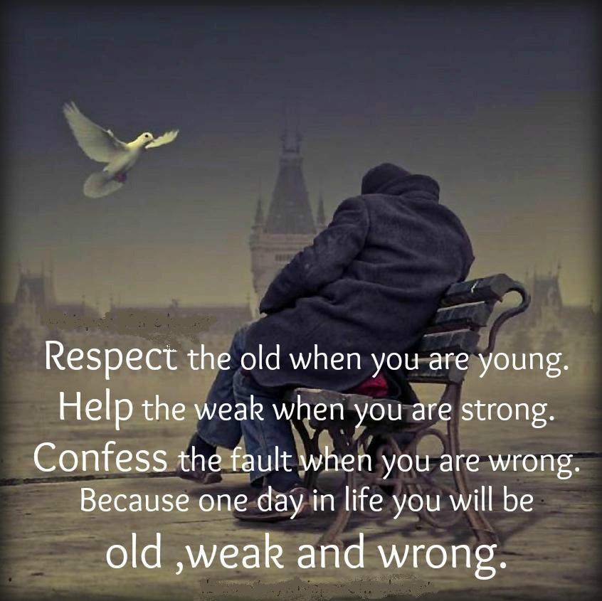 respect for elderly A growing lack of adult authority has bred a 'spoilt generation' of children who believe grown-ups must earn their respect, a leading psychologist has warned.