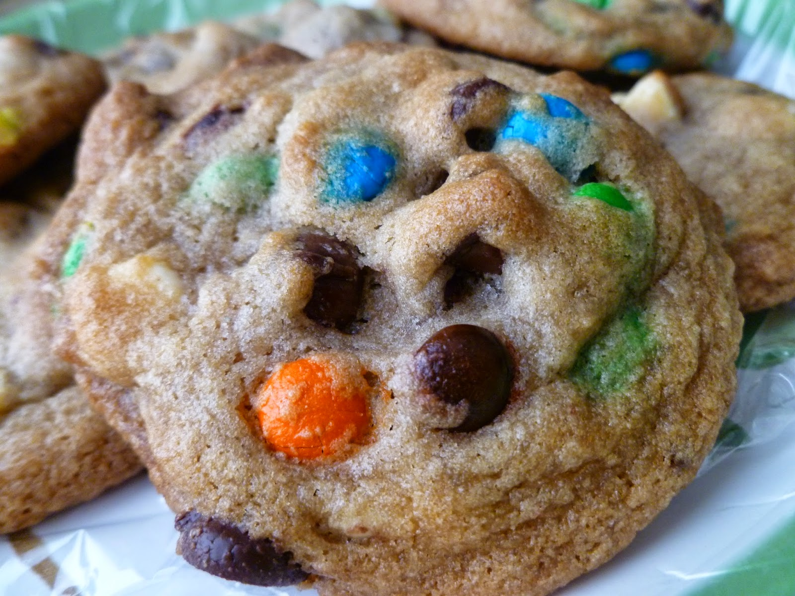 The Pastry Chef's Baking: Triple Chocolate Chip Cookies