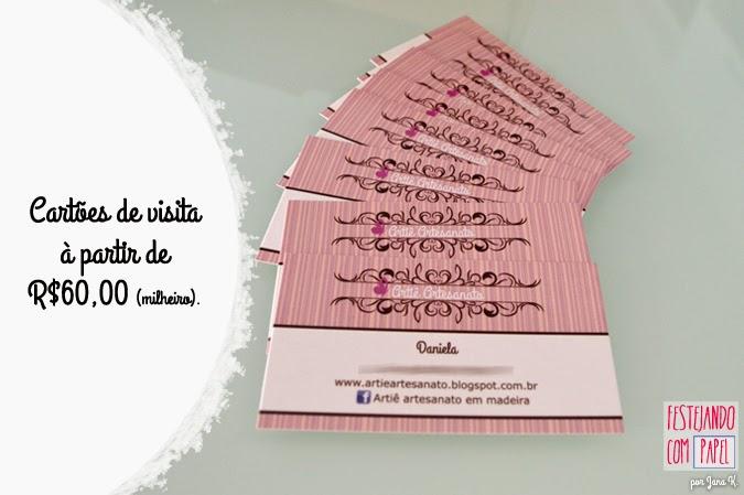 festejando com papel, blog festejando com papel, blog, cartões de visita