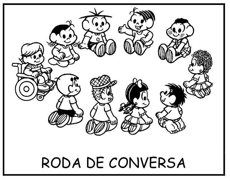 Fichas De Rotina Da Turma Da M  Nica