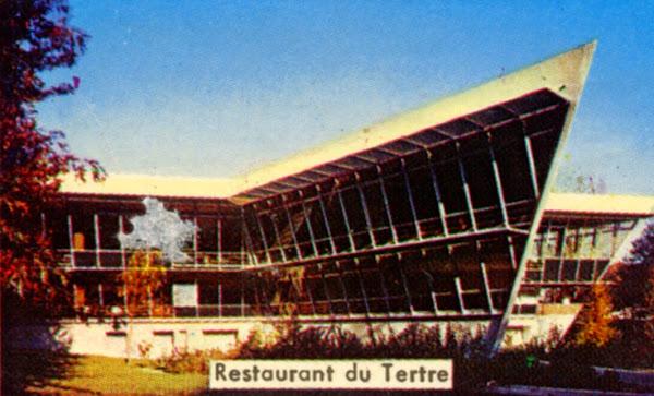 """Nantes - """"Le Tertre"""" - Restaurant Universitaire  Architecte: Louis Arretche avec André Guillou, Pierre Doucet  Construction: vers 1967"""