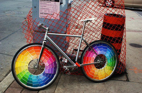 colored tyres