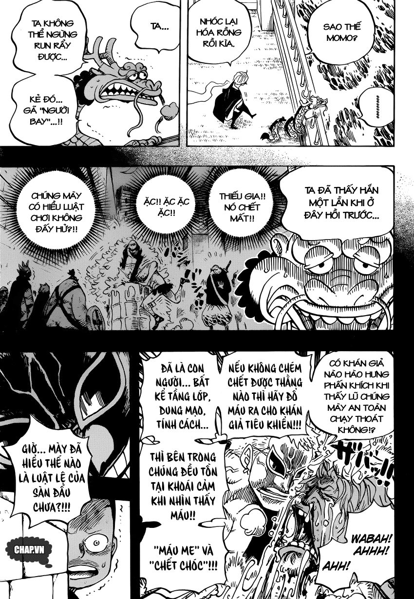 One Piece Chapter 725: Nữ chiến binh bất bại 004