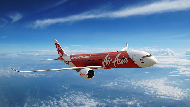 Foto Gambar Pesawat Terbang Air Asia 22