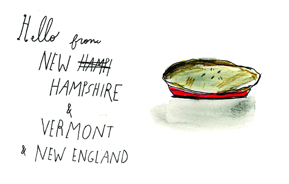 Hello from New England by Elizabeth Graeber