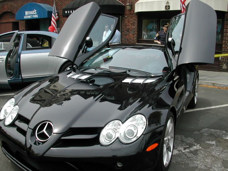 World Of Cars Mercedes Benz Slr Image
