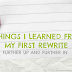 5 Things I Learned From My First Rewrite